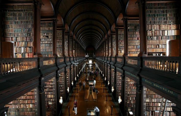 Trinity Library © Brett Jordan